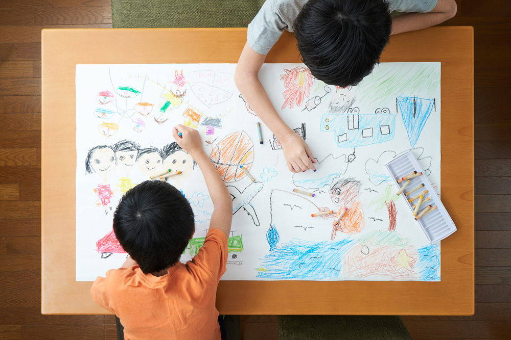 子供は子供部屋で勉強するの?
