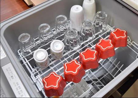 ジョーシンWEBサイトからお借りした、国内メーカー食洗器写真